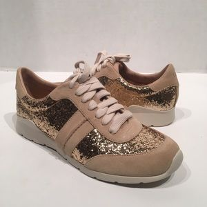 Ugg Jaida Glitter Leather Style Sneakers